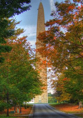 Bennington Monument Bennington Vermont a symbol of Vermont
