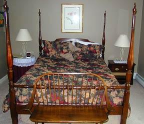 inn accommodations, A Vermont Inn bedroom