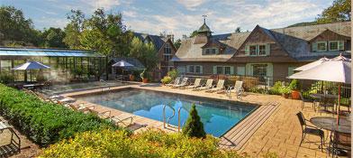 Castle Hill Resort Aveda Spa Okemo lodging, Ludlow Vermont, Ludlow lodging