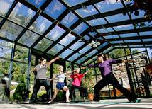 castle hill resort yoga classes at aveda spa