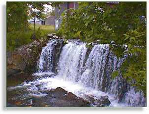 brandon, Vermont falls