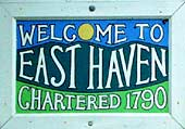 East Haven Vermont sign