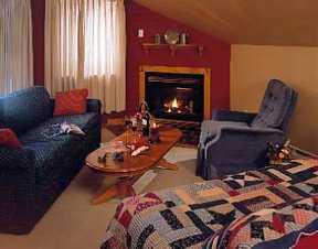 Sitting Room, Snowed Inn, Killington Vermont