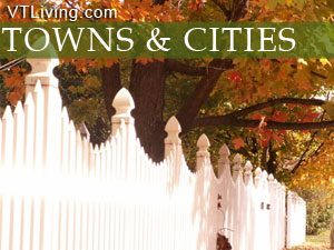 Vermont towns and cities
