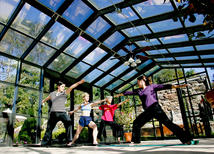 castle hill resort yoga classes at aveda spa