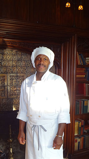 castle hill resort chef