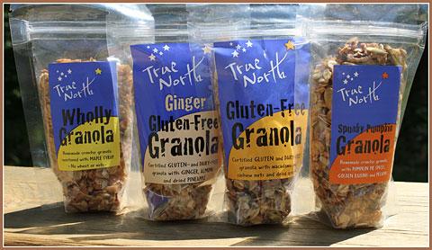 Vermont-made True North Granola