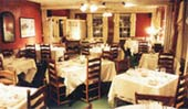 Dining at Waybury Inn restaurant Middlebury Vermont lodging wedding venue