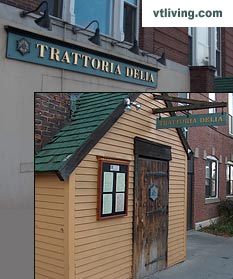 Vermont farm network dining at Trattoria Delia in Burlington