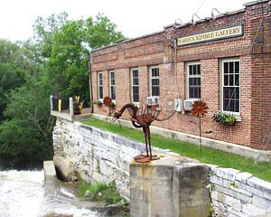 Warren Kimble Gallery in Historic Brandon Vermont