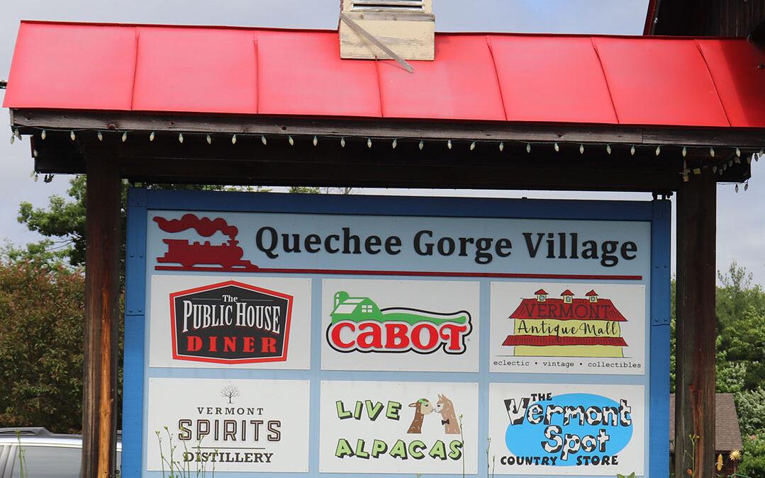 Quechee Gorge Village, Quechee Vermont
