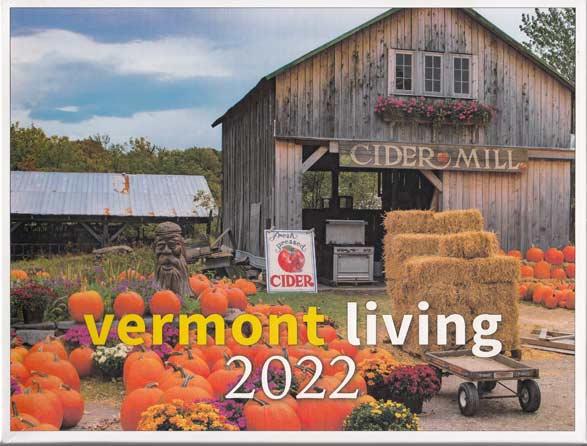 Vermont Living Wall Calendar 2022